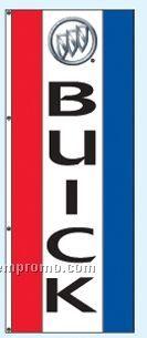 Double Face Dealer Interceptor Drape Flags - Buick