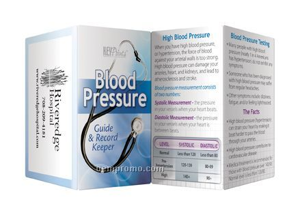Key Points Brochure - Blood Pressure Guide & Record Keeper