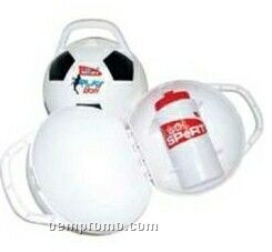 Custom Plastic Sports Ball Shaped Lunch Containers