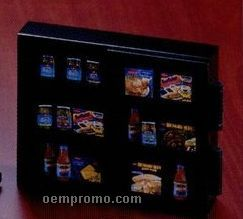 Food Cabinet W/ Hinged Door Lucite Embedment