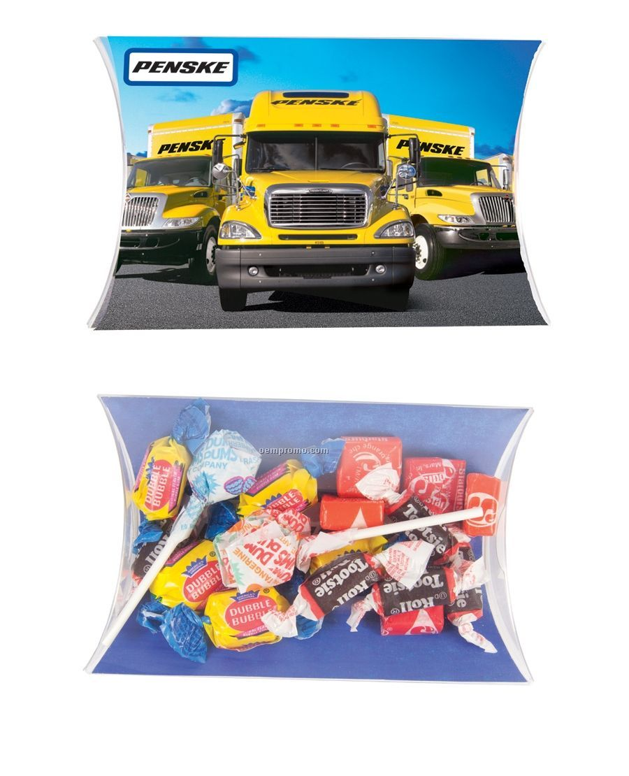 Large Pillow Pack With Candy Mix (Dum Dums/ Tootsie Rolls/ Starbursts/ Gum)