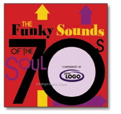 R & B Funky Sounds Of The Soul 70's Compact Disc In Jewel Case/ 10 Songs