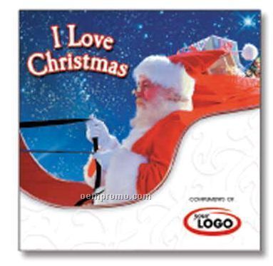I Love Christmas Holiday Compact Disc In Greeting Card/ 12 Songs