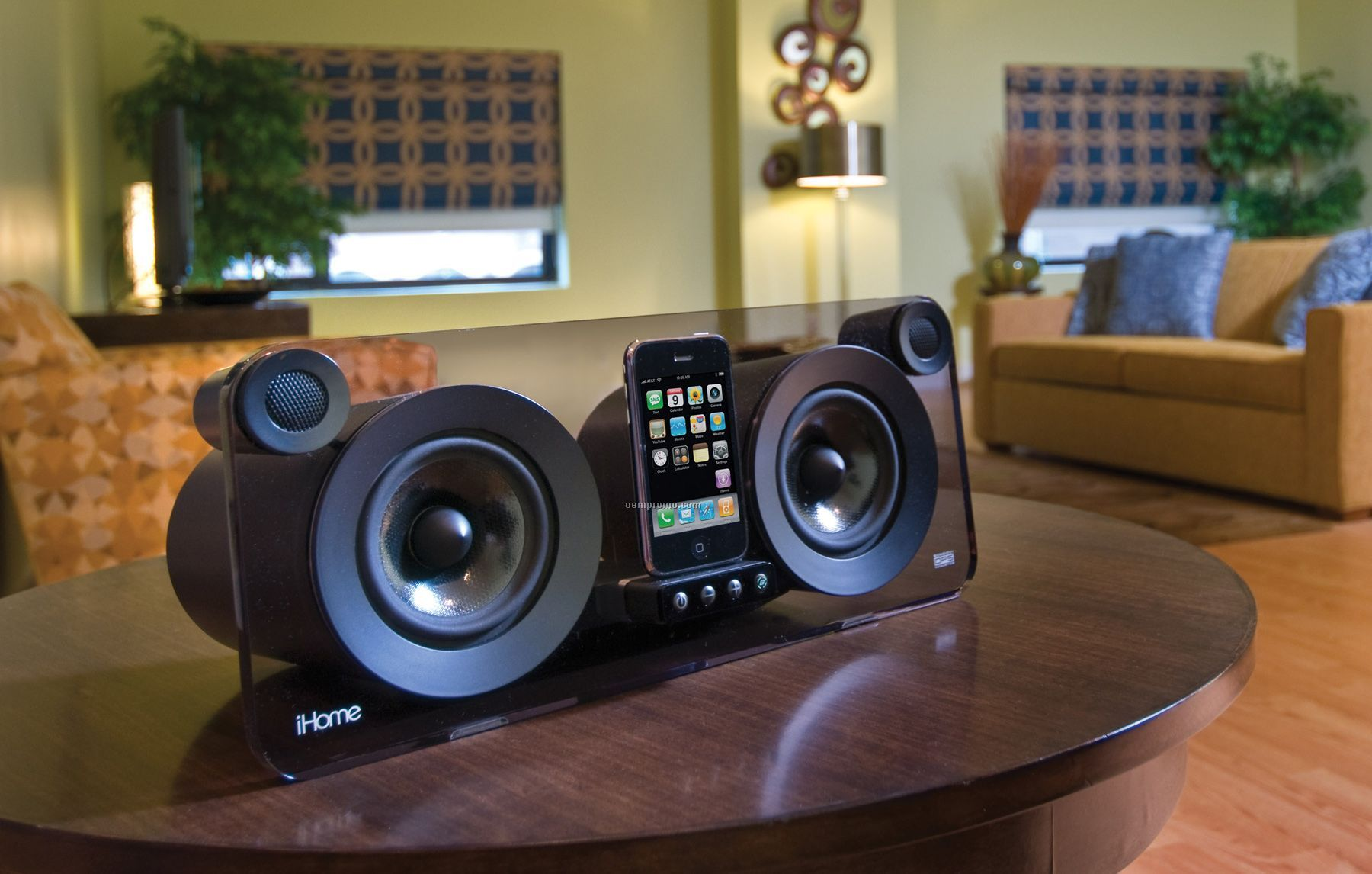Ihome Bongiovi Home Speaker System For Iphone Amp Ipod China
