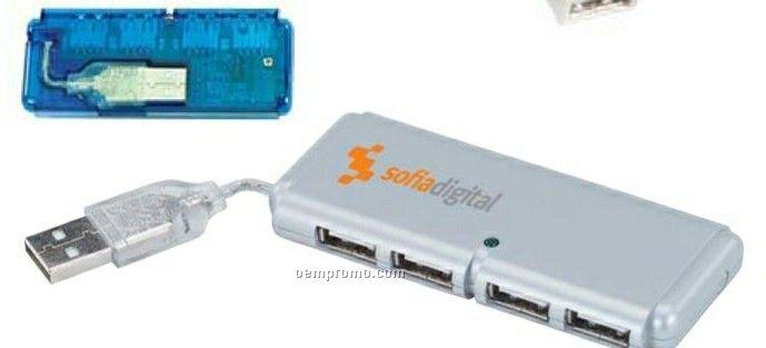 Mini USB 4 Port Hub 1.1