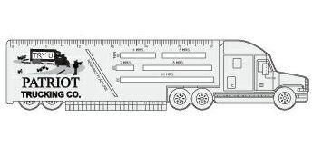 Trucker Logbook Ruler (Truck)