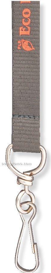 "Custom Nylon Lanyard W/ Choice Of Attachment (9/16"")"