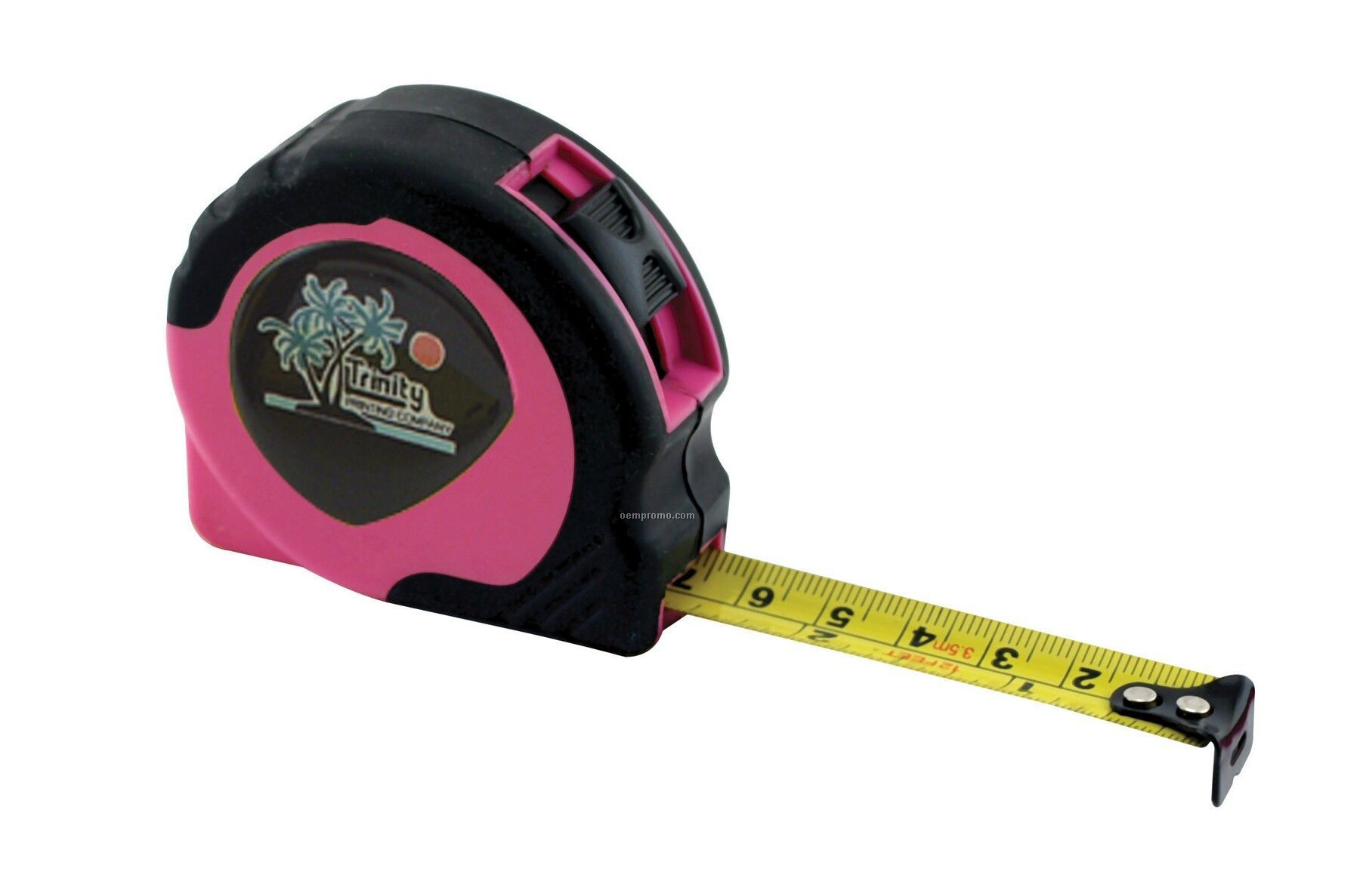 "Women's Retractable Power Tape Measure- Laminated Label (12'x5/8"" Blade)"