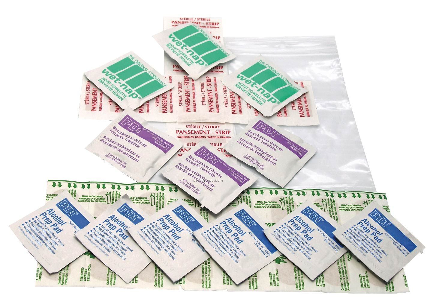 40 Piece First Aid Kit (Blank)