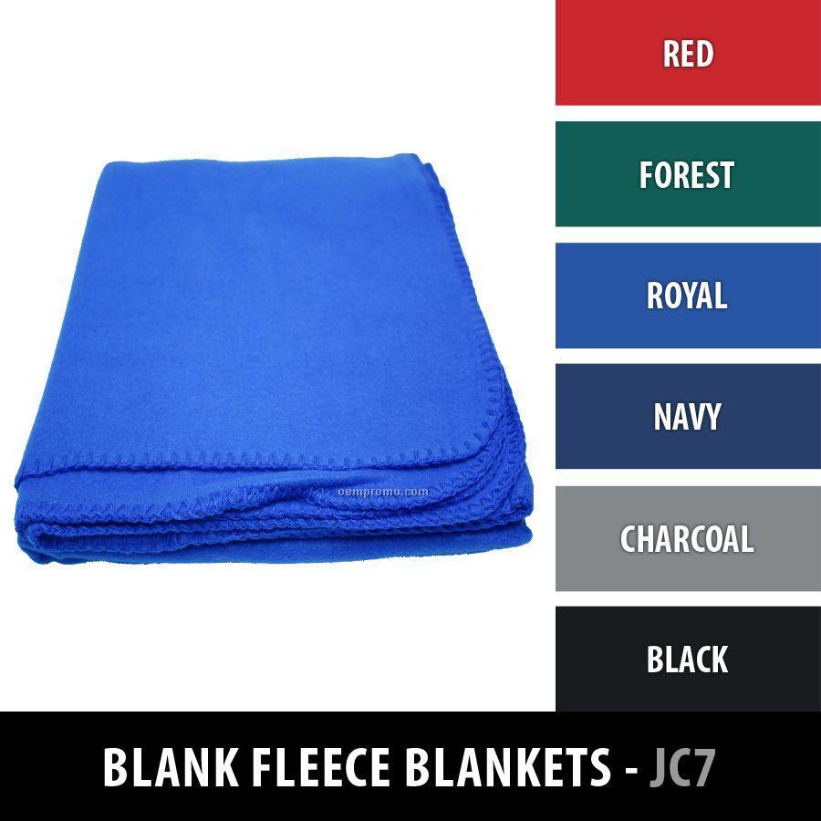 Promo Fleece Blanket - Blank