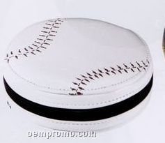 Round Sport Baseball 12 CD Holder