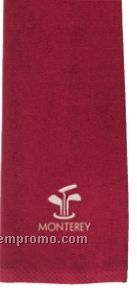 The Liverpool Terry No Fold Golf Towel