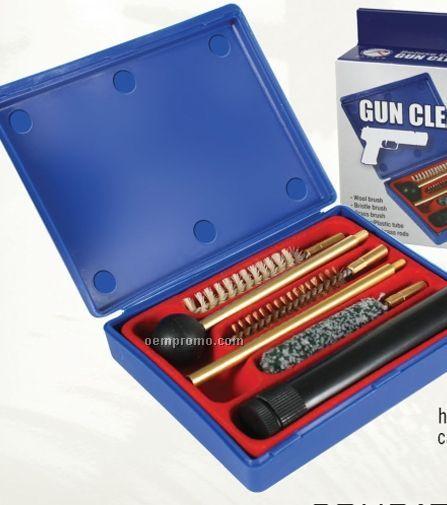 .45 Caliber Handgun Cleaning Kit With Brushes