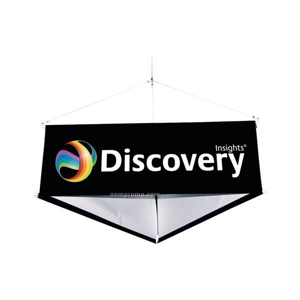10' 3-sided Hanging Banner Display Kit