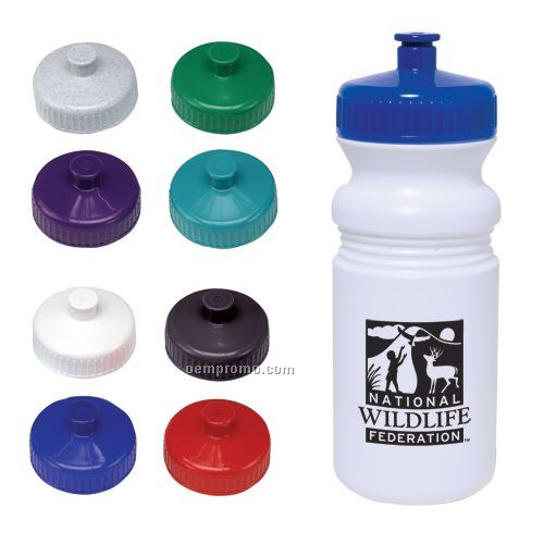 20 Oz. Water Bottle W/ Sport Grip