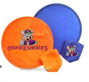 Collapsible Frisbee With Pouch