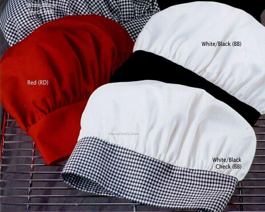 White Chef Designs Chef Hat