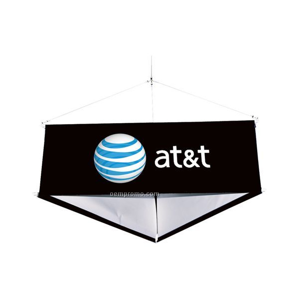 12` 3-sided Hanging Banner Display Kit