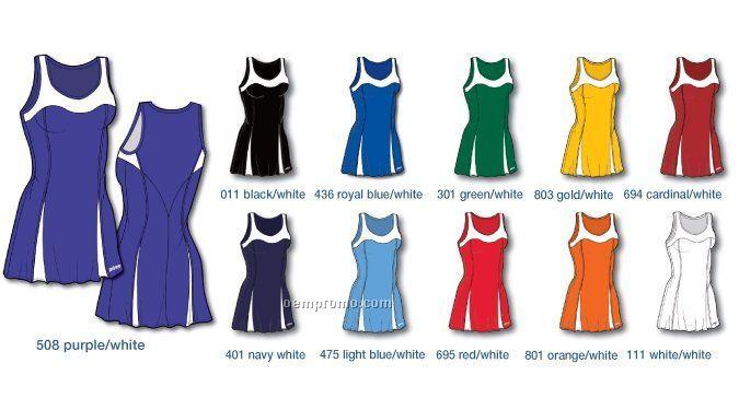 3w042 Blw Women's Tennis Dress