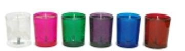 3 Oz. Gel Candle - In Clear Glass Votive