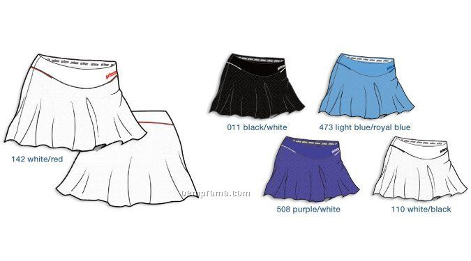 3w043 Blw Mesh Tennis Skort