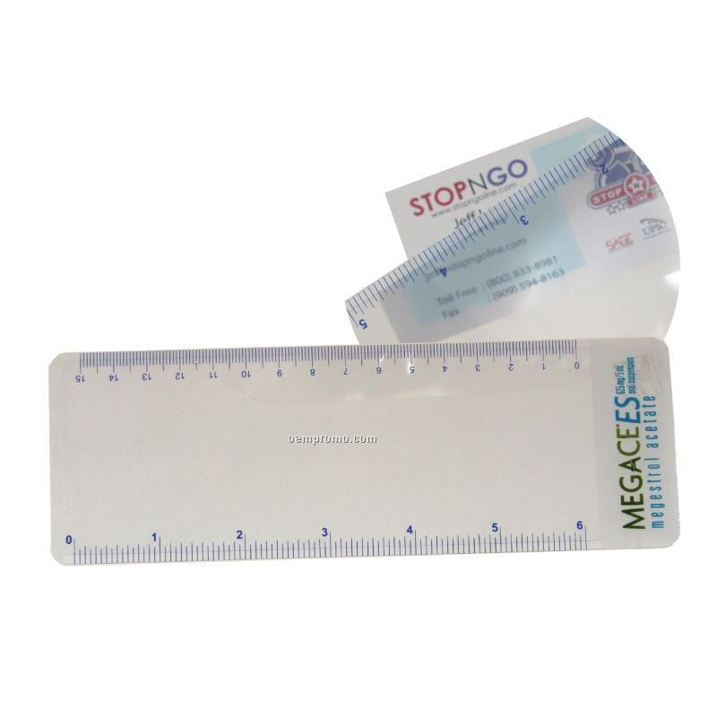 Magnifier W/Ruler