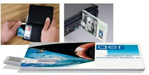 Custom Credit Card USB Drive 2.0 (4 Gb)