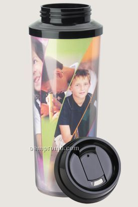 Full Color Insert Thermal Travel Tumbler