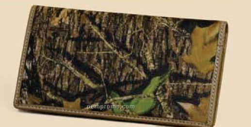 Women's Leather Deluxe Checkbook Wallet