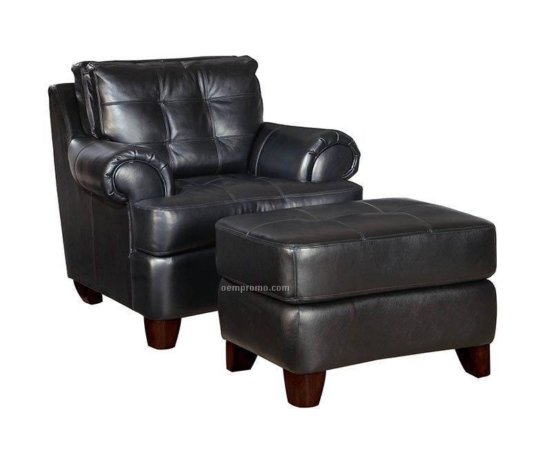 Francis Leather Suite Chair