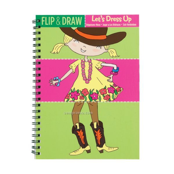 Let's Dress Up Flip & Draw