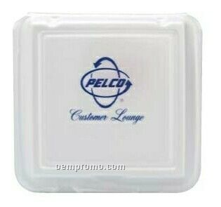 Large Compartment Hinged Foam Deli Container