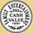 Stock Family Entertainment No Cash Value Token (1.125znp Size)