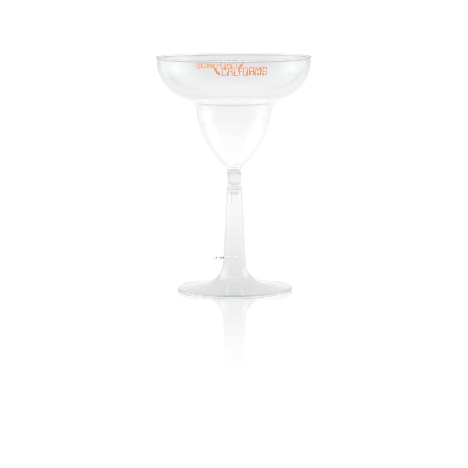 12 Oz. Clear Plastic Margarita Glass