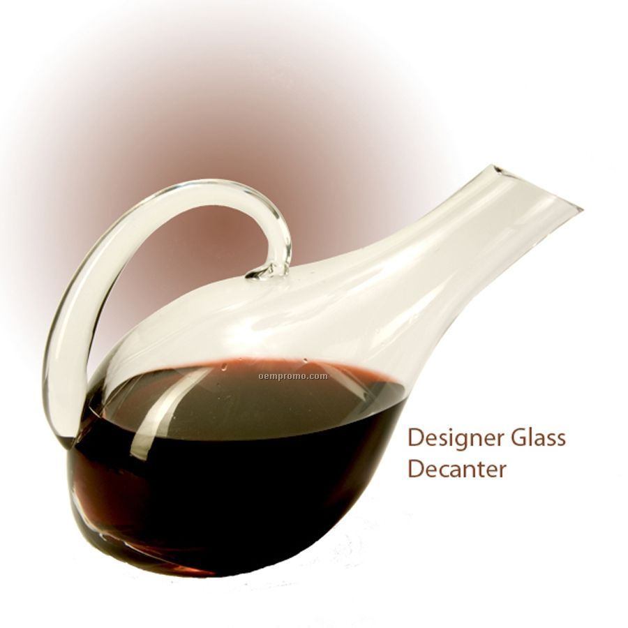 Designer Glass Decanter