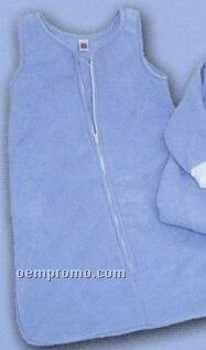 Promotional Fleece Sleeveless Baby Snuggle Sack With Zipper