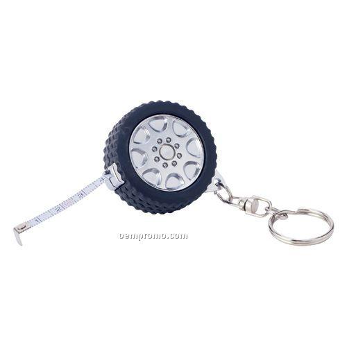 Tire Tape Measure W/ Keyring