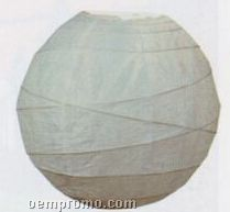 Chinese Lantern With Non-parallel Ribbing