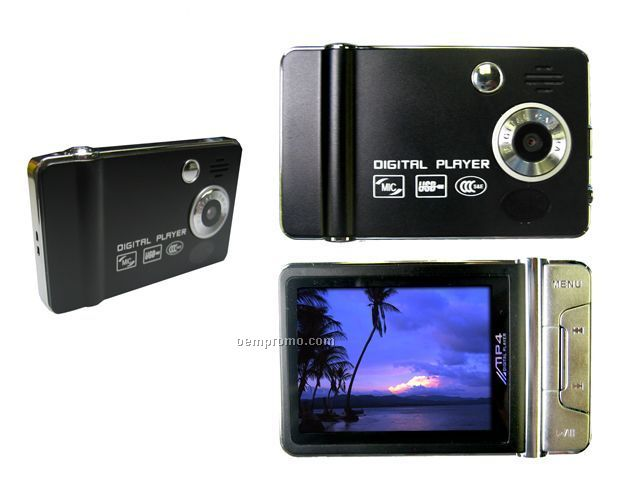 Digital Camera With Mp3 / Mp4 Player