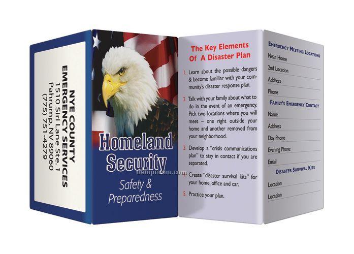Key Points Brochure - Homeland Security Safety & Preparedness