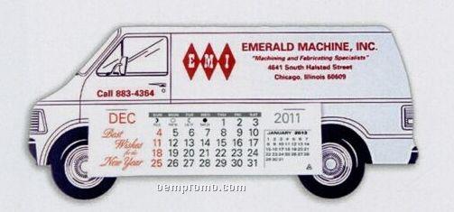 Long Van Standard Truck Calendar (After 05/01/11)