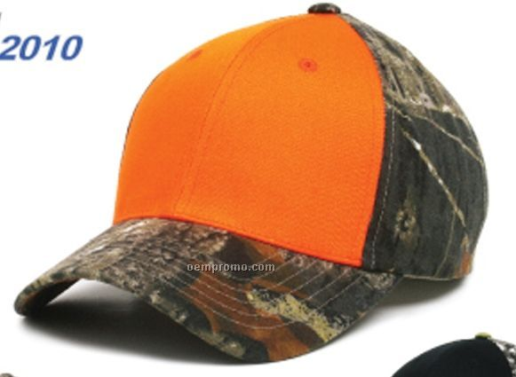 New Generation Two Tone Mossy Oak Cap (One Size Fits Most)