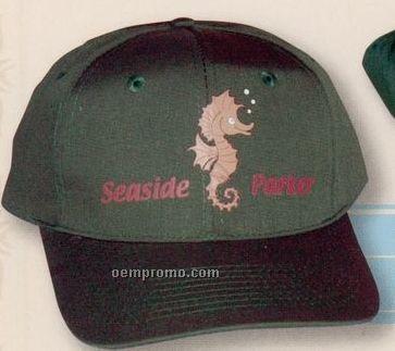 The Lorimor Cotton Twill Cap (Suede Puff)