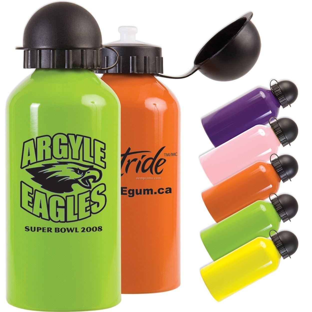 16 Oz. Aqua Dome Aluminum Bottle - Closeout Colors