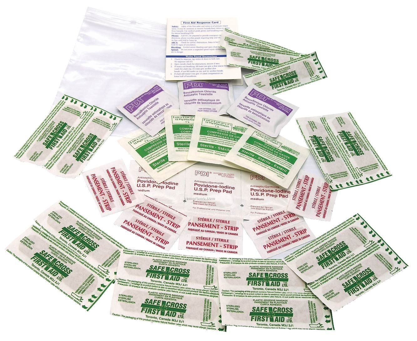 36 Piece First Aid Kit (Blank)