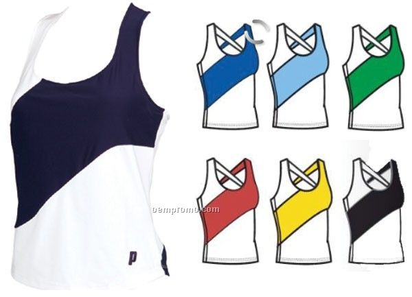 471343 Prince Women's Comp Sleeveless Tennis Tank