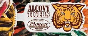500-streamer Glitter Pom Poms With Mascot Handle - Tiger