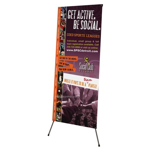 Exhibitor Series 834 Banner Display Kit