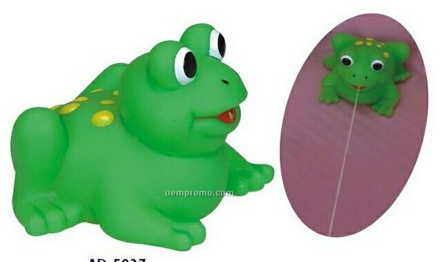 Rubber Squirting Frog Toy