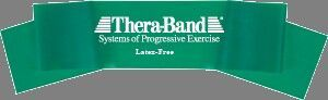 Thera-band 5' Latex Free Exercise Band, Heavy